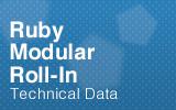 Ruby Modular Roll-in Datasheet.
