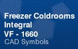 Freezer Coldrooms - Integral 1660mm.