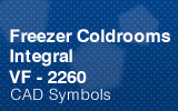Freezer Coldrooms - Integral 2260mm.