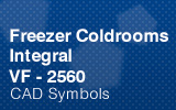 Freezer Coldrooms - Integral 2560mm.
