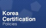 韩国认证 (KC).