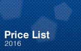 Price List 2016.