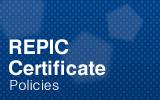 REPIC Certificate.