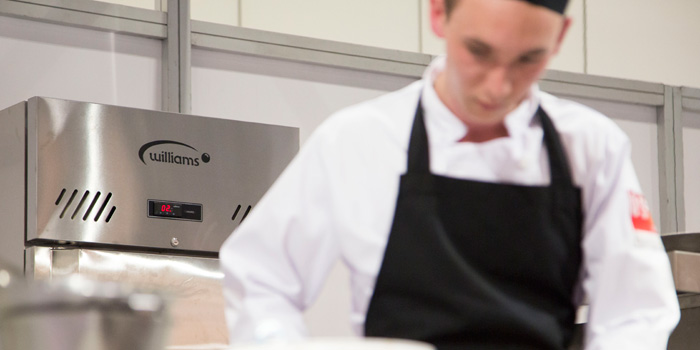 Williams suplies equipment to Salon Culinaire.