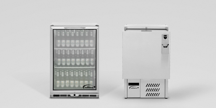 Bottle Coolers and Bottle Wells from Williams.