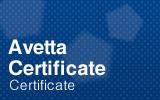 Avetta Certificate.