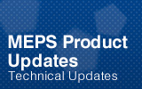 MEPS Product Updates.