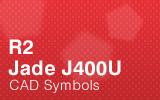 Jade Cabinets - J400U - CAD Symbols.