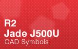Jade Cabinets - J500U CAD Symbols.