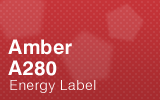 Amber - A280 Energy Label.