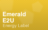 Emerald - E2U - Energy Label.