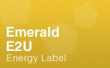 Emerald - E2U - Energy Label.