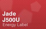 Jade Cabinet - J500U - Energy Label.