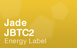 Jade Biscuit Top Counter - JBTC2 Energy Label.
