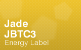 Jade Biscuit Top Counter - JBTC3 Energy Label.