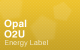Opal Counter - O2U - Energy Label.