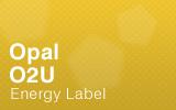 Opal Counter - O2U - Energy Label.