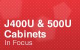J400U & 500U in focus.
