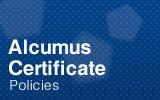 Alcumus Certificate.