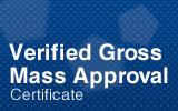 Verified Gross Mass Approval.