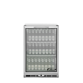 1 door Bottle Cooler Stocked