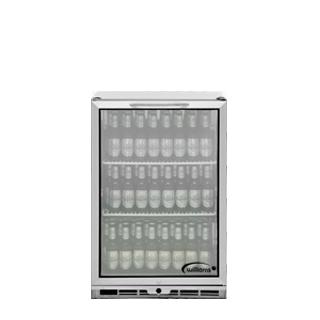 1 door Bottle Cooler Stocked
