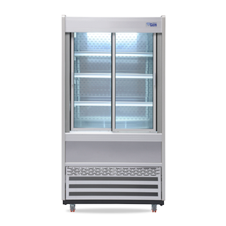 R100 Multideck with Sliding Front Doors