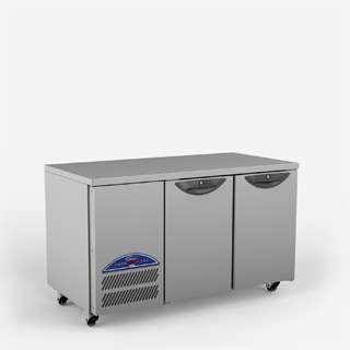 Opal Two Door Refrigerated Counter - Side On