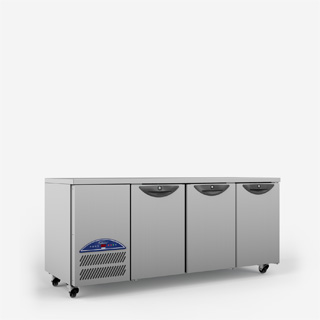 Opal Three Door Gastronorm Refrigerated Counter