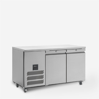 Jade Two Door Refrigerated Counter - Side On