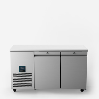 Jade Two Door Slimline Refrigerated Counter - Front On Elevated