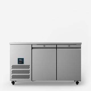 Jade Two Door Slimline Refrigerated Counter - Front On