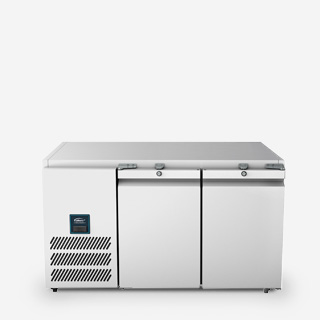 Two Door Biscuit Top Refrigerated Counter - JBTC2