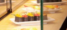 Sushi Display.