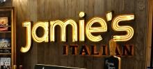 Jamie's Italian, Causeway Bay, Hong Kong.