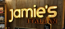 Jamie's Italian,铜锣湾,香港.