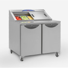 Williams New CPC2 Two drawer refrigerated prep station.