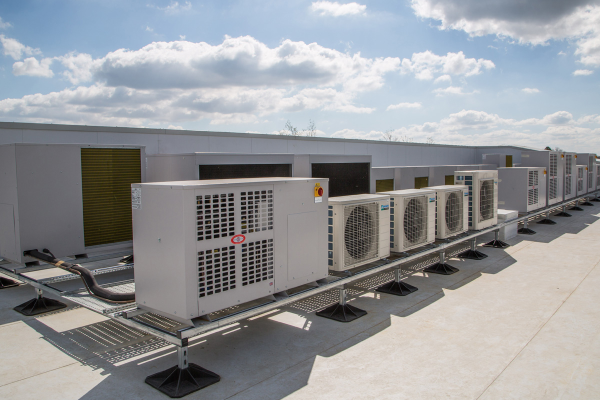Condensing Units at Professional Nursey Kitchen