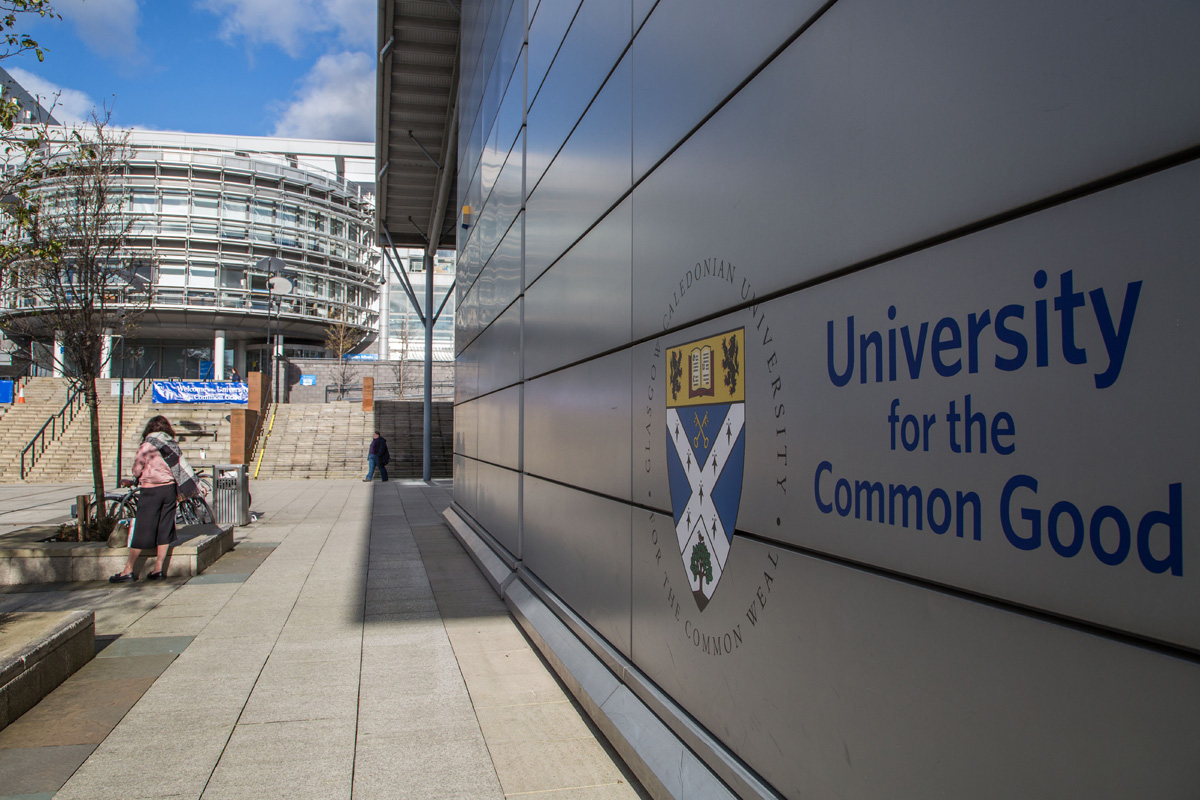 External view of building at Caledonian University