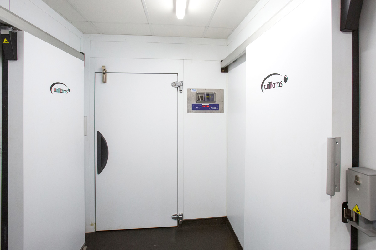 WIlliams Coldrooms at  Caledonian University