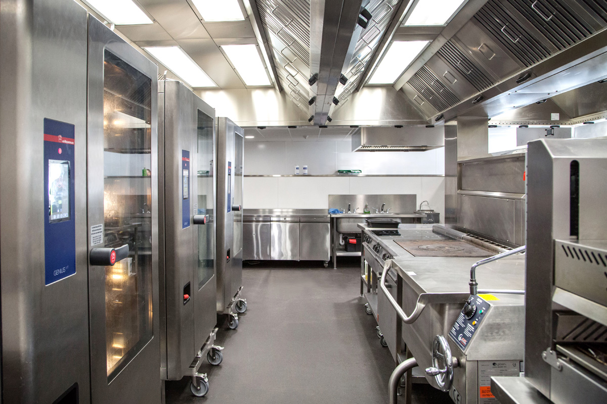Kitchen at Caledonian University