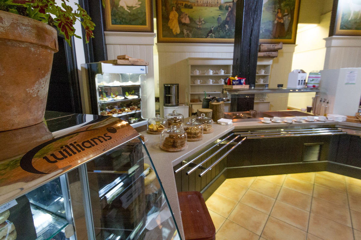 Stables Cafe at Houghton Hall