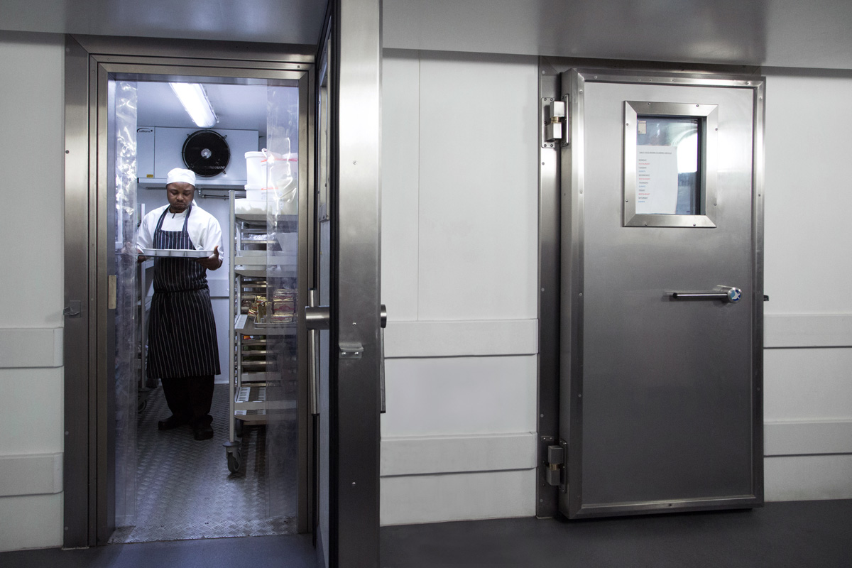 Custom Built Coldrooms at Sea Container