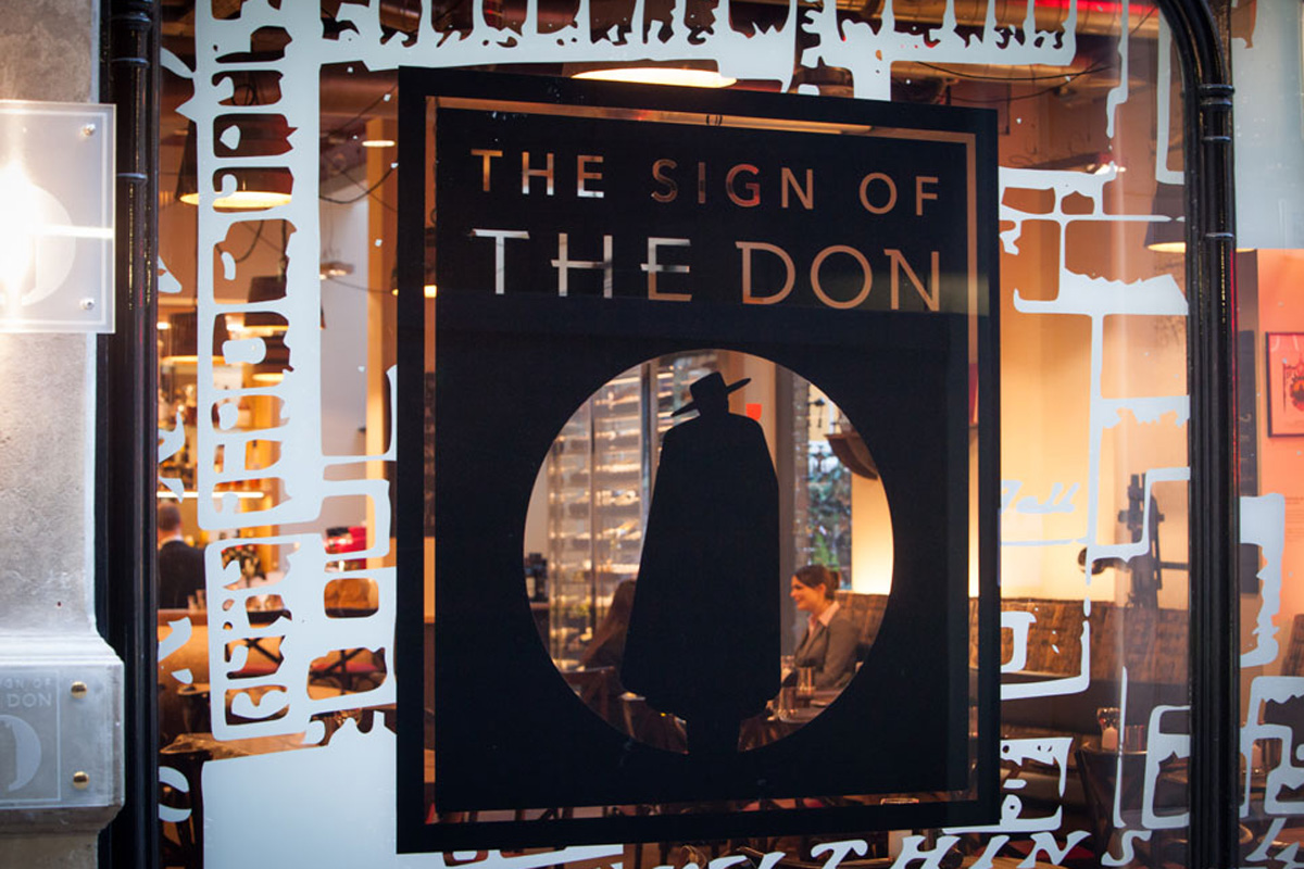 External view of The Sign of The Don