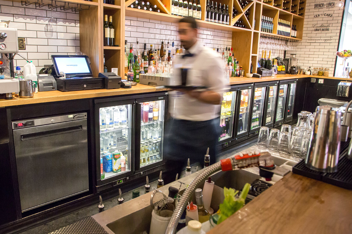 Bar Area at The Commission