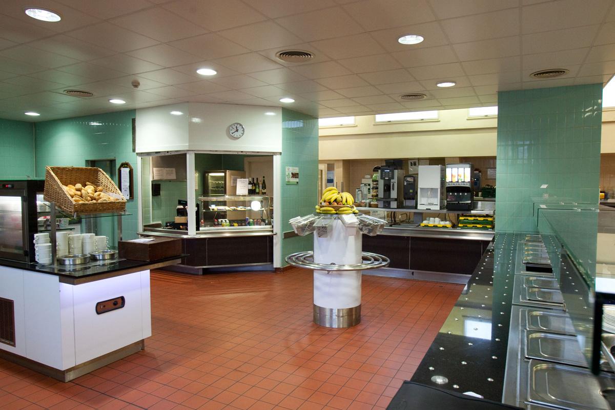 Servery area at Emmanuel College