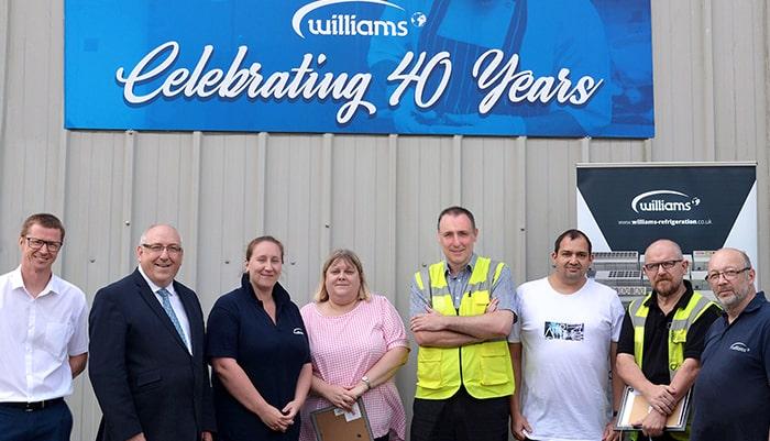 Williams celebrates staff awards