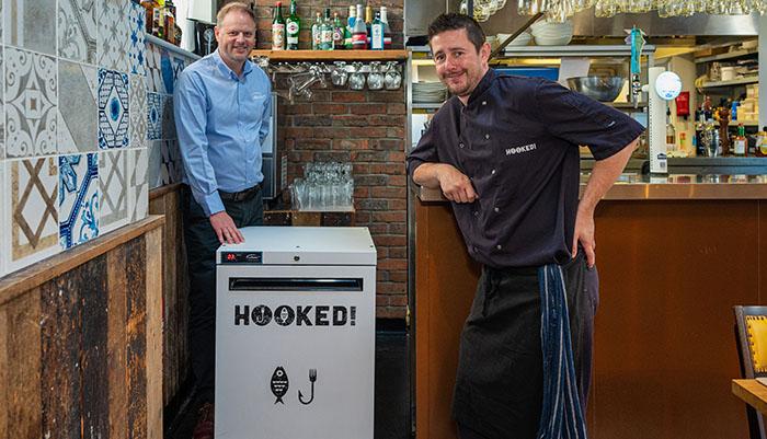 Williams Hooked free fridge