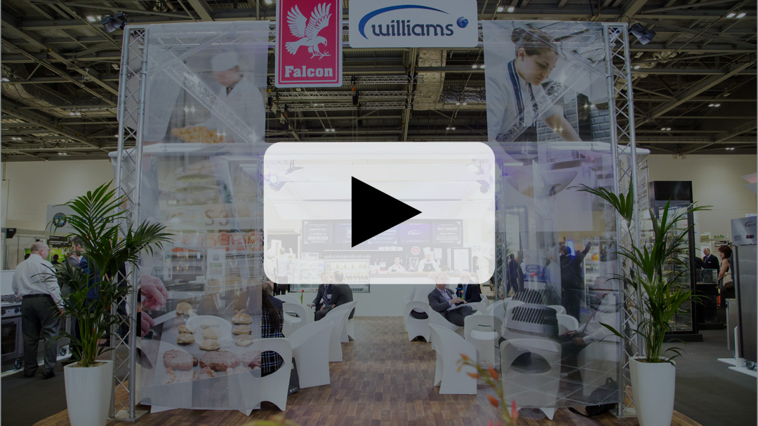 Williams exhibits at Hotelympia
