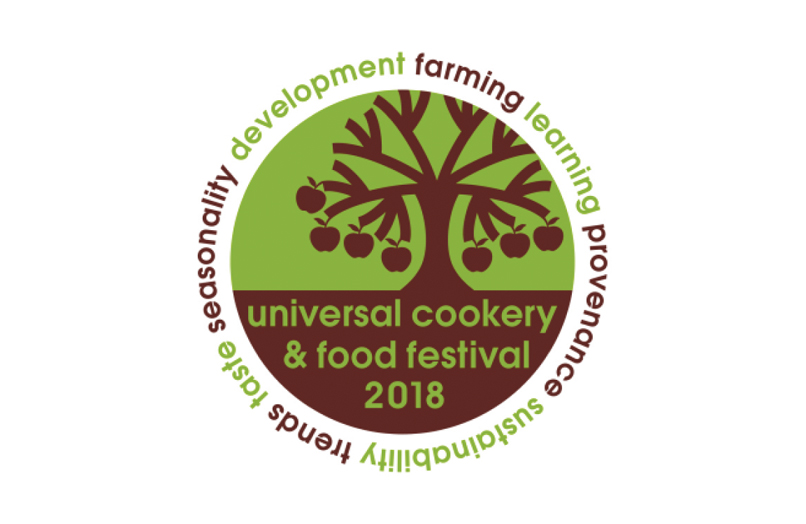 The Universal Cookery & Food Festival Logo.